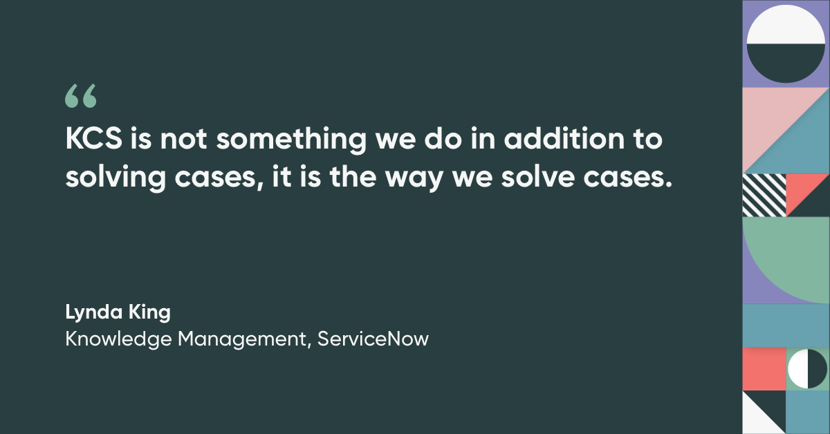 Knowledge-Centered Service quote