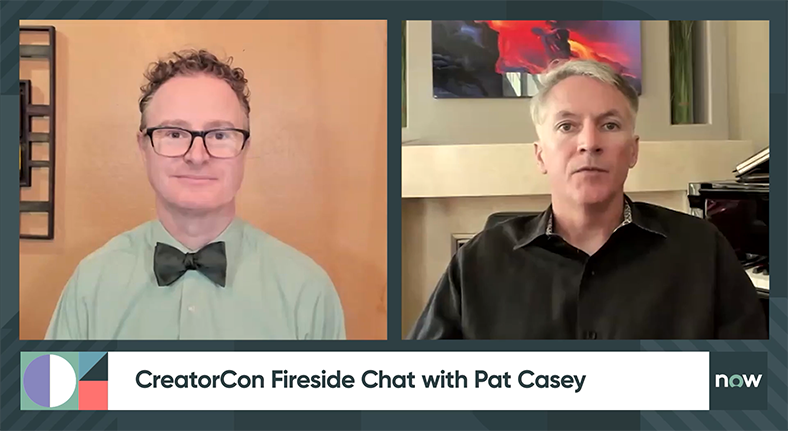 CreatorCon fireside chat with Pat Casey