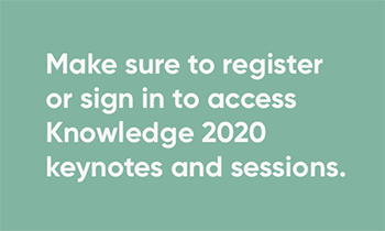 Registration and login information for Knowledge website