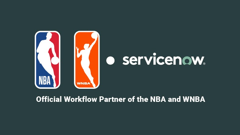 ServiceNow is the official workflow partner of the NBA